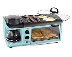 Nostalgia Retro 4 Slice Toaster Oven Coffee Maker Griddle