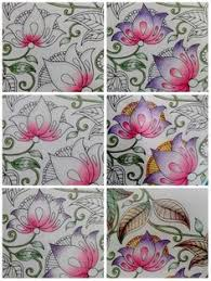 Find This Pin And More On Coloring Inspiration Color Blending Secret Garden Book