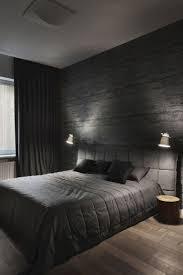 dunkelgraue raumfarbe dunkle schlafzimmer tapete