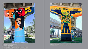 Chicano Park Murals Map by Chicano Park Steering Committee