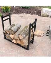 Winter Shopping Sales on Indoor Outdoor Firewood Log Rack With