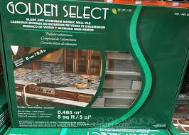 golden select starlight glass and aluminum mosaic wall tile