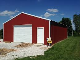 loafing shed kits oklahoma products pole barns buildings meek s lumber and hardware the