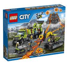 LEGO City Volcano Exploration Base (60124) - Toys