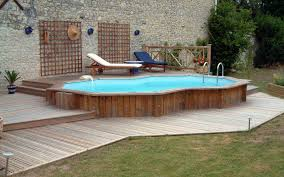 Above Ground Pool Deck Images by Above Ground Pool With Deck Benefits Cost And Ideas