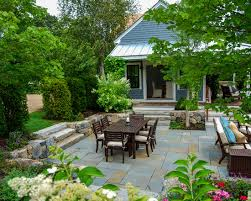 Exterior Eco Friendly Patio With Pottery Barn Patio Furniture And