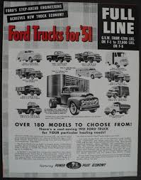 100 All Line Truck Sales Ford F5 Service Shop Owners Manuals Troxels Auto Literature