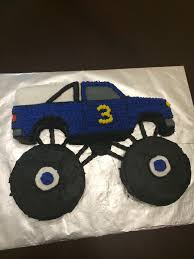 Monster Truck Birthday Cake - Used A Wilton 1980s Truck Cake Pan ... Monster Truck Cake Recipes Best Made By Amy Volby Cakes Pinterest Truck Amazoncom Wilton 3d Cruiser Pan Novelty Cake Pans Kitchen Mr Vs 3rd Birthday Party Part Ii The Fun And Small Dump Together With Duplo As Well Volvo A30c 100 Sawyer U0027s Garbage Mold 3d Tow Tractor Ding Punkins Shoppe Page 3 Grave Digger Cakecentralcom Liviroom Decors