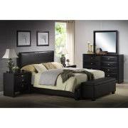 Ireland Queen Faux Leather Bed Brown Walmart