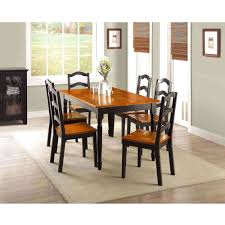 black kitchen table set home design and decorating