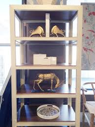 99 Bungalow 5 Nyc Gold Bisoni Bookends And Antelope Straighthorn Statue At