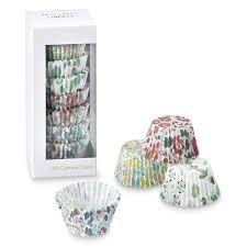 Meri Liberty Print Mini Cupcake Liners Set Of 100