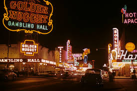 Light Matters A Flash Back to the Glittering Age of Las Vegas at