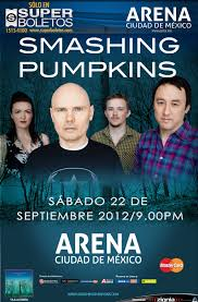 The Smashing Pumpkins Oceania Violet Rays by Reseña The Smashing Pumpkins U2013 Ciudad De México Eyescream All