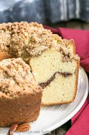 Streusel Coffeecake Pound Cake That Skinny Chick Can Bake