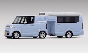 Honda N-Truck Kei Concept: World's Tiniest Travel Trailer, Too Cute ...