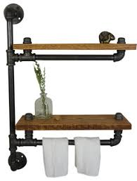 Ridgeview Towel Bar Industrial Bathroom Cabinets And Shelves
