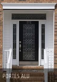 porte blindée combiné porte d entrée vitrée pas cher porte de