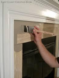 simple fireplace upgrade sloan chalk paint east coast