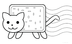 Spooky Coloring Pages Cat Printable