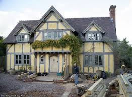 Mock Tudor House Photo by Lichfield Who Built Their Own Tudor Home For 200k Daily