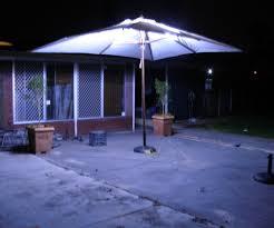 Patio Umbrella Offset Tilt by Decorations Pretty Lighted Patio Umbrella For Enchanting Patio