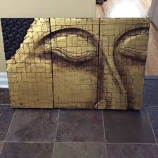 Buddha Face Picture From Pier 1 Imports