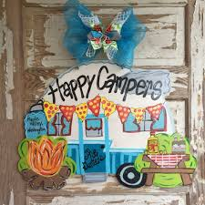 Camper Sign Camping Door Hanger Decor Decorations Ideas For Vbs Il Full Large Size