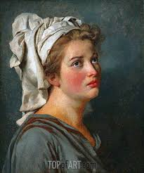 Young Woman With A Turban C1780