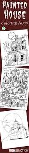 Halloween Acrostic Poem Worksheet by Haunted House Coloring Haunted Houses Worksheets And House