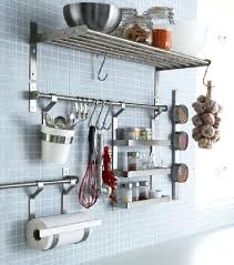 support mural cuisine accroche casseroles cuisine agrandir un support mural pour