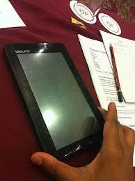 configuration pc bureau aakash tablet