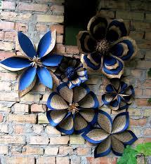 6 Giant Paper Flowers Home Decoration Rustic Decor