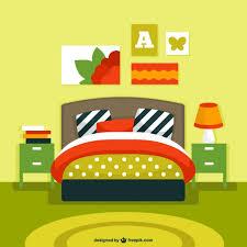 bedroom interior vector vector free download