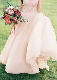 Im Actually Loving The Blush Wedding Gowns Gown