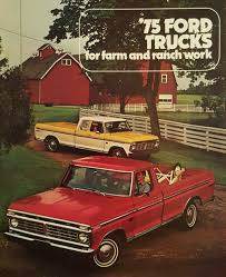 100 Cheap Ford Trucks For Sale 1975 Farm And Ranch Truck S Brochure Pickup