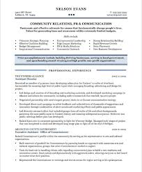 Community Relations Manager Free Resume Samples Blue Sky Resumes Templates Printable For Director Position