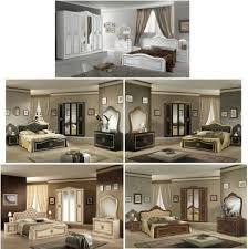 neu schlafzimmer set lucia lattenrost klassik barock 160 180x200cm 4 6 türig