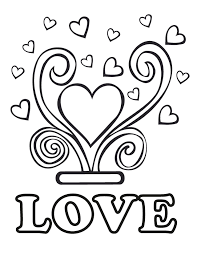 Nice Free Printable Wedding Coloring Pages For KIDS
