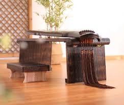 holz klapptisch klavier bank asiatische chinesische antike