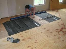 Plywood Flooring On Concrete Floor Unique Hardwood Slab Delightful Subfloor Over