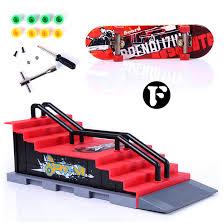 Tech Deck Penny Board by Abbyfrank 1pc Mini Skateboard Toy Skate Park For Tech Deck