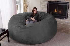 Giant Bean Bag Chair | Home Decor | Bean Bag Chair, Giant ... Big Joe Milano Bean Bag Vegan Faux Leather Chair Exciting Loveseat Brown Twin Co Home Wicker Lovely Chairs Ikea For Fniture Ideas Using Modern Roma Beanbag Fuball Dreamshapersaldinfo 10 To Unwind In After A Long Day Weredesign Appliances Stunning Trend Cuddle Ipirations Appealing Lumin