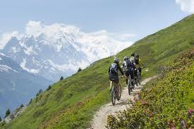 vélo et vtt à chamonix mont blanc hôtel 4 étoiles