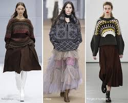 Fall Winter 2016 2017 Fashion Trends Apres Ski Oversized Sweaters