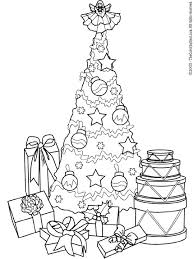 Christmas Presents Coloring Sheets Printable Pages Tree Gifts Free For Kids Best Images On