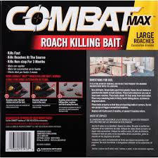 Bedroom Boom Mp3 by Combat Max Large Roaches Roach Killing Bait Stations 8 Ct Box