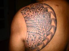 Tribal Tattoo Awesome Designs For Mens Shoulder