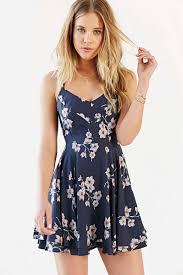 Kimchi Blue Scarlett Fit Flare Dress