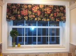 Modern Valances For Living Room by Box Pleated Kitchen Valance Window Treatments Pinterest